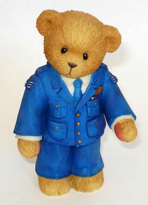 Cherished Teddies AIR FORCE TEDDIE -