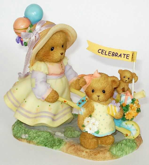 Cherished Teddies ANNELIESE and ELISA -