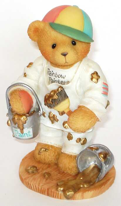 Cherished Teddies ANTHONY  -  RARE Version Gold!!! -