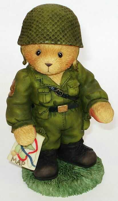 Cherished Teddies ARMYMAN TEDDIE -