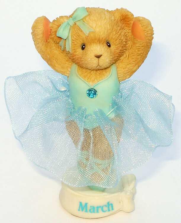 Cherished Teddies TEDDIE TWIRLS - AVON -
