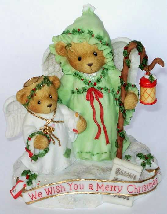 Cherished Teddies BEVERLY and LILA -