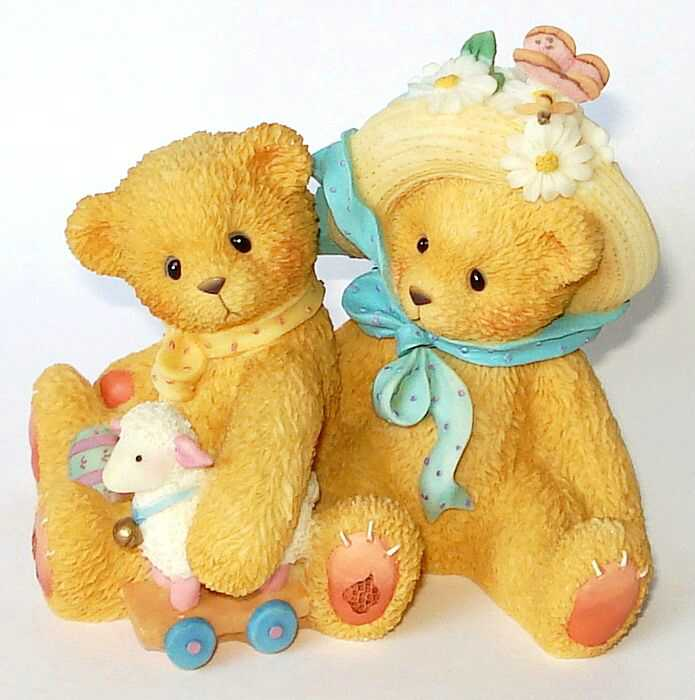 Cherished Teddies CHELSEA AND DAISY -