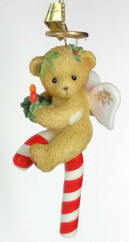 Cherished Teddies 2005 Candy Cane Ornament - CARLTON CARDS -