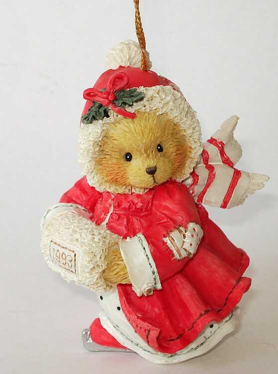 Cherished Teddies ALICE - GIRL WITH MUFF -