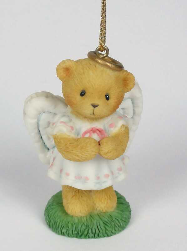 Cherished Teddies Angel/Folded  -  Carlton Cards Exclusive -