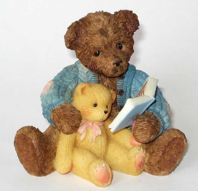 Cherished Teddies BAXTER and FRIEND -