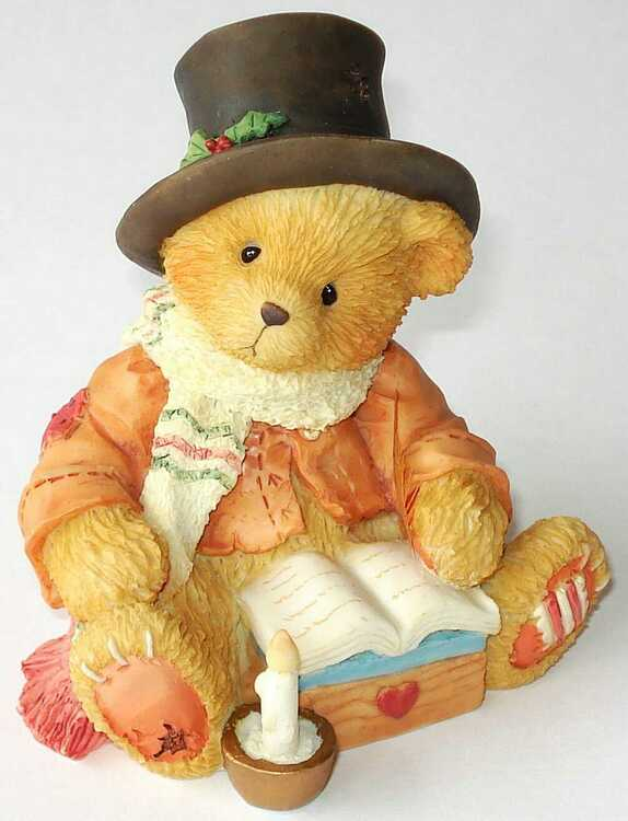 Cherished Teddies BEAR CRATCHIT -