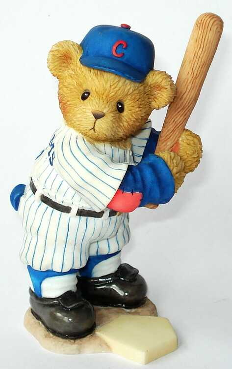 Cherished Teddies BILLY WILLIAMS  -  3th In The Series Of Chicago Cubs -
