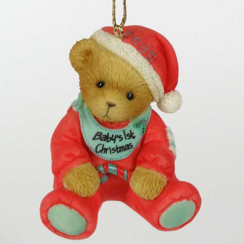 Cherished Teddies Baby's 1st Christmas  -  USA Exclusive -