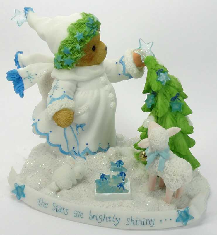 Cherished Teddies CHARLENE - 3rd White Christmas Serie 2010 -