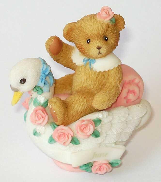 Cherished Teddies CHERISHED TEDDIES JUNE TRINKET BOX -
