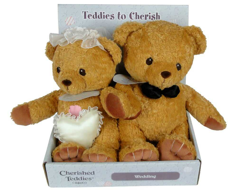 Cherished Teddies Cherished Teddies Wedding Plush Teddies -