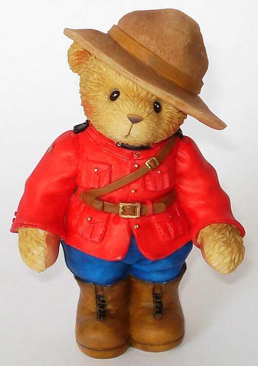 Cherished Teddies Constable MacKenize - Canadian Exclusive -