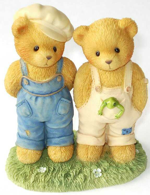 Cherished Teddies ERNEST and BUGSY -