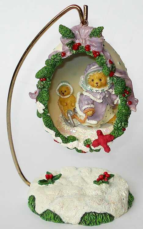 Cherished Teddies GRETCHEN - Decorative Egg  - Hamilton -