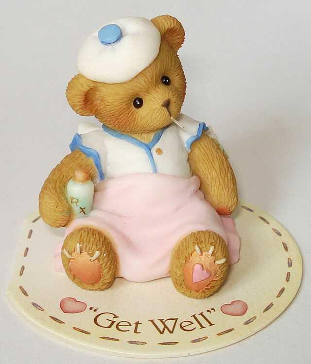 Cherished Teddies Get Well -