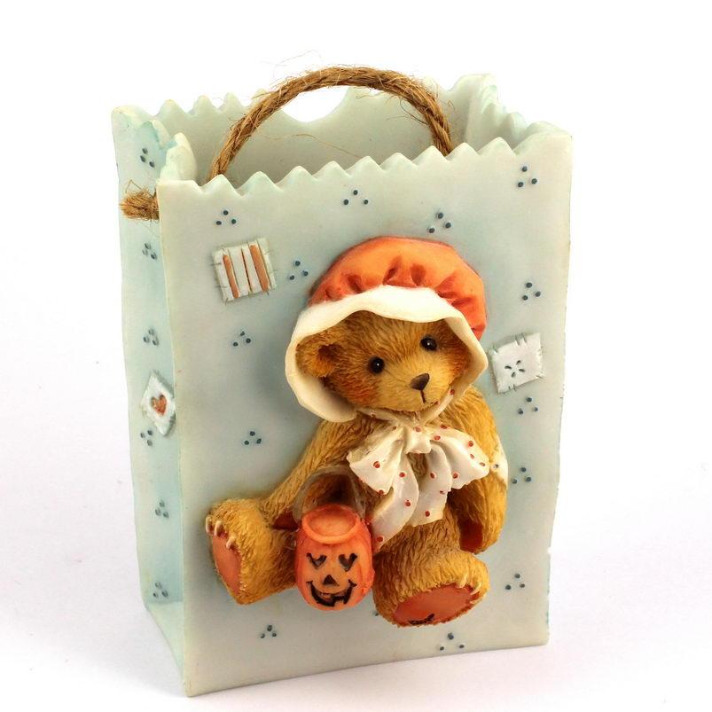 Cherished Teddies Halloween Treat Bag Connie -