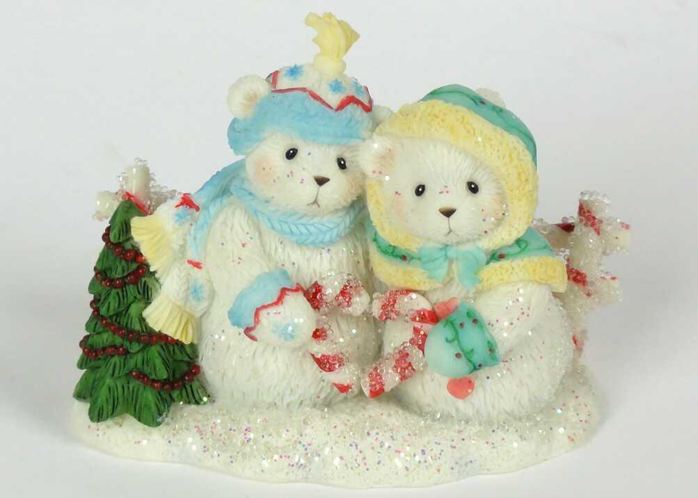 Cherished Teddies Hamilton Snowfall of Friendship 2th -