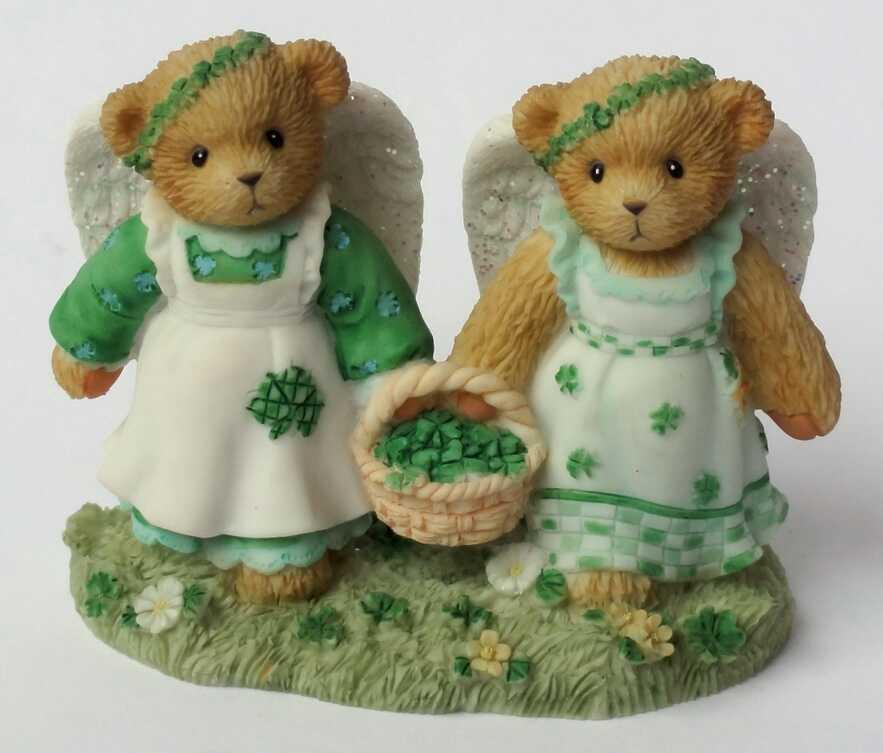 Cherished Teddies IRISH SHAMROCKS  -  Hamilton Exclusive -