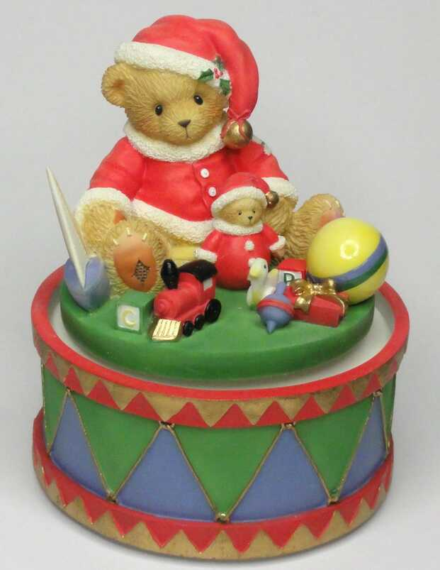 Cherished Teddies Jolly Old St Nicholas - Musical -