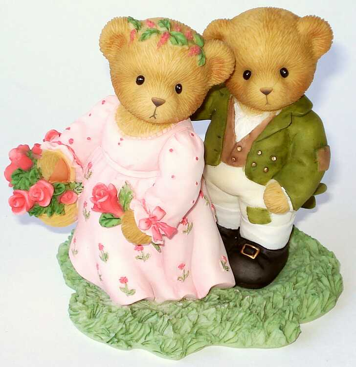 Cherished Teddies LIZZIE and DARCY -