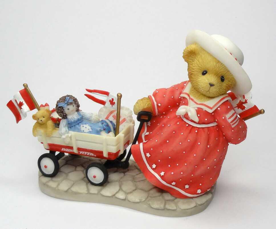 Cherished Teddies MARTHA  -  Canadian Exclusive -