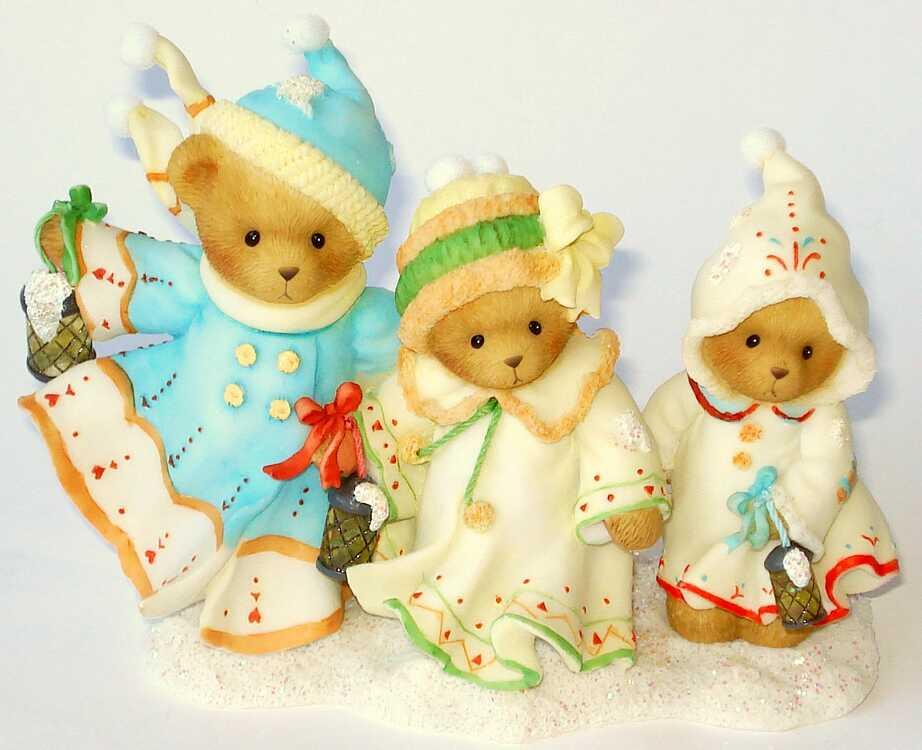 Cherished Teddies MISTIE, DANIELLE and BRITTANY -