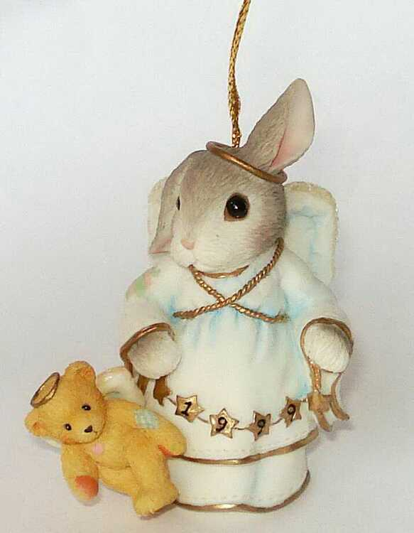 Cherished Teddies MY BLUSHING BUNNIES mit CHERISHED TEDDIE -
