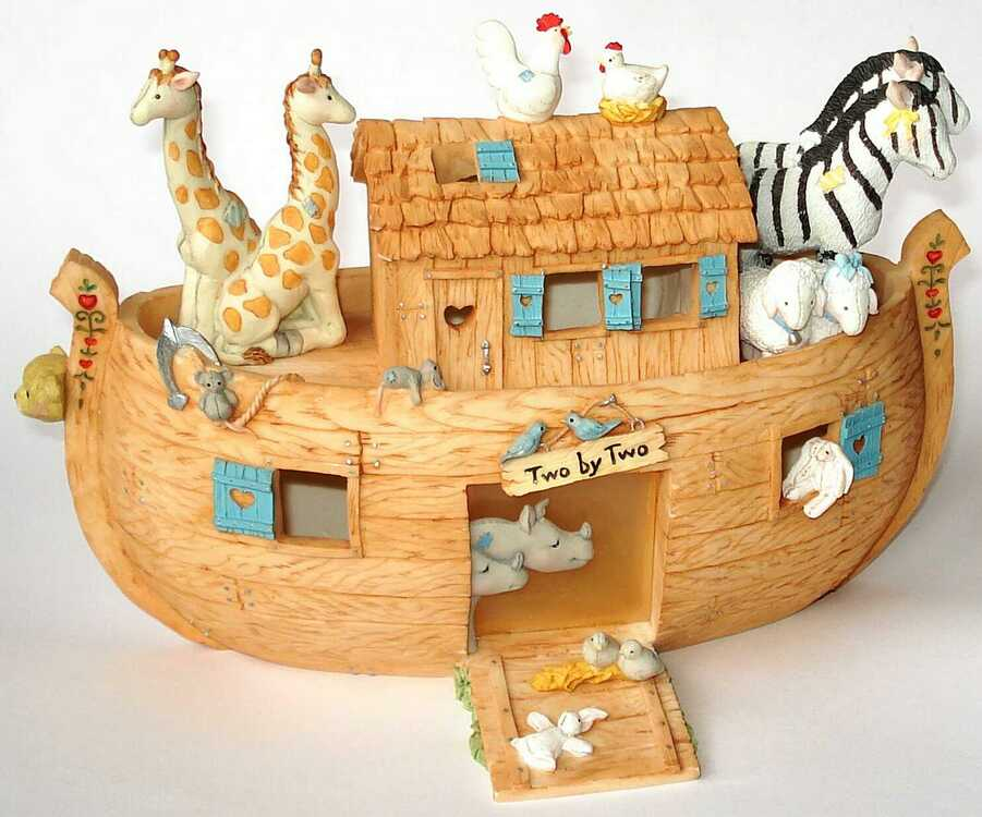 Cherished Teddies NOAH'S ARK -