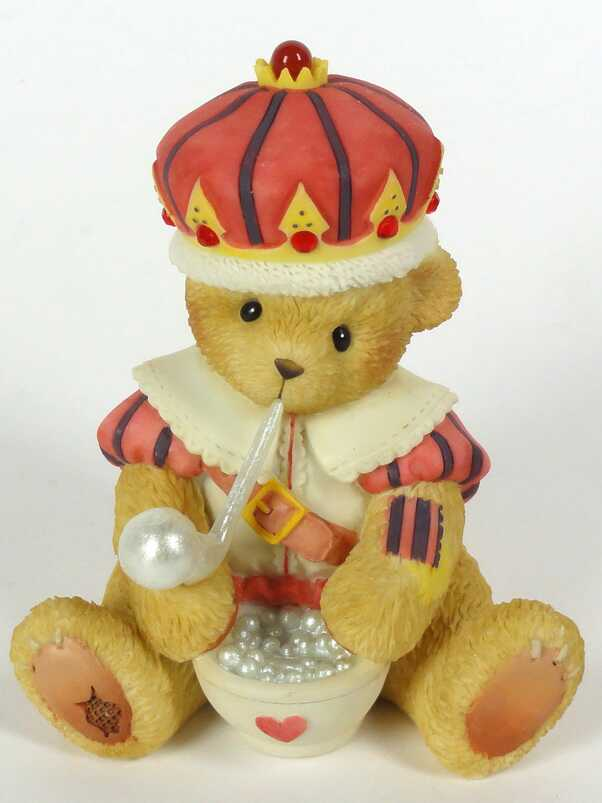 Cherished Teddies OLD KING COLE -