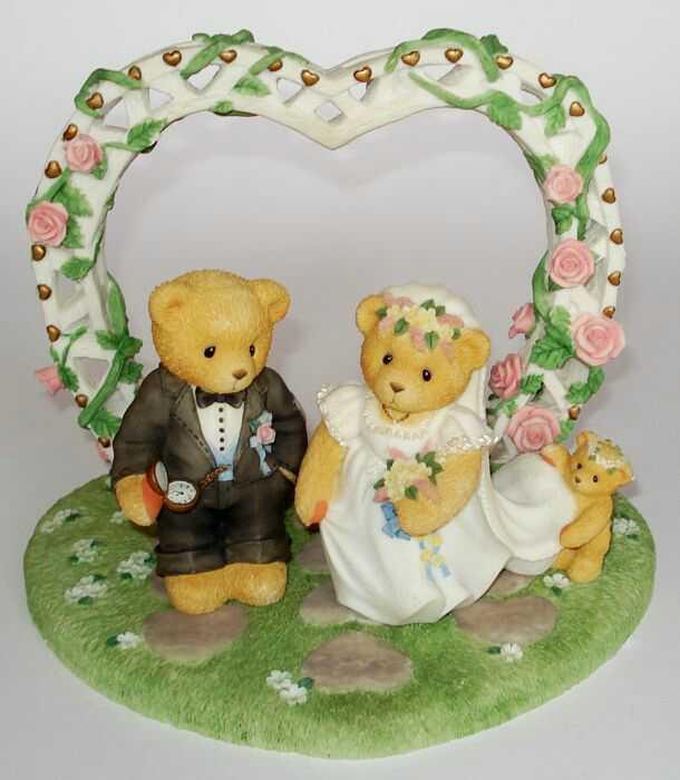 Heidis Cherished Teddies Galerie OUR CHERISHED WEDDING 3er SET