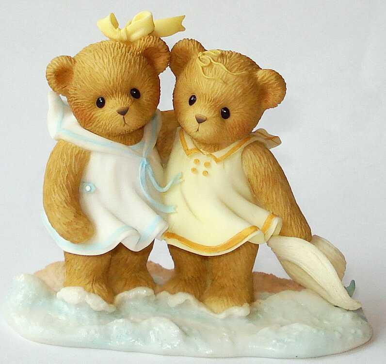 Cherished Teddies PAULINA and MARIA -