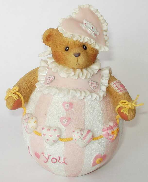 Cherished Teddies Roly Poly Prototype Sample Double Signed -