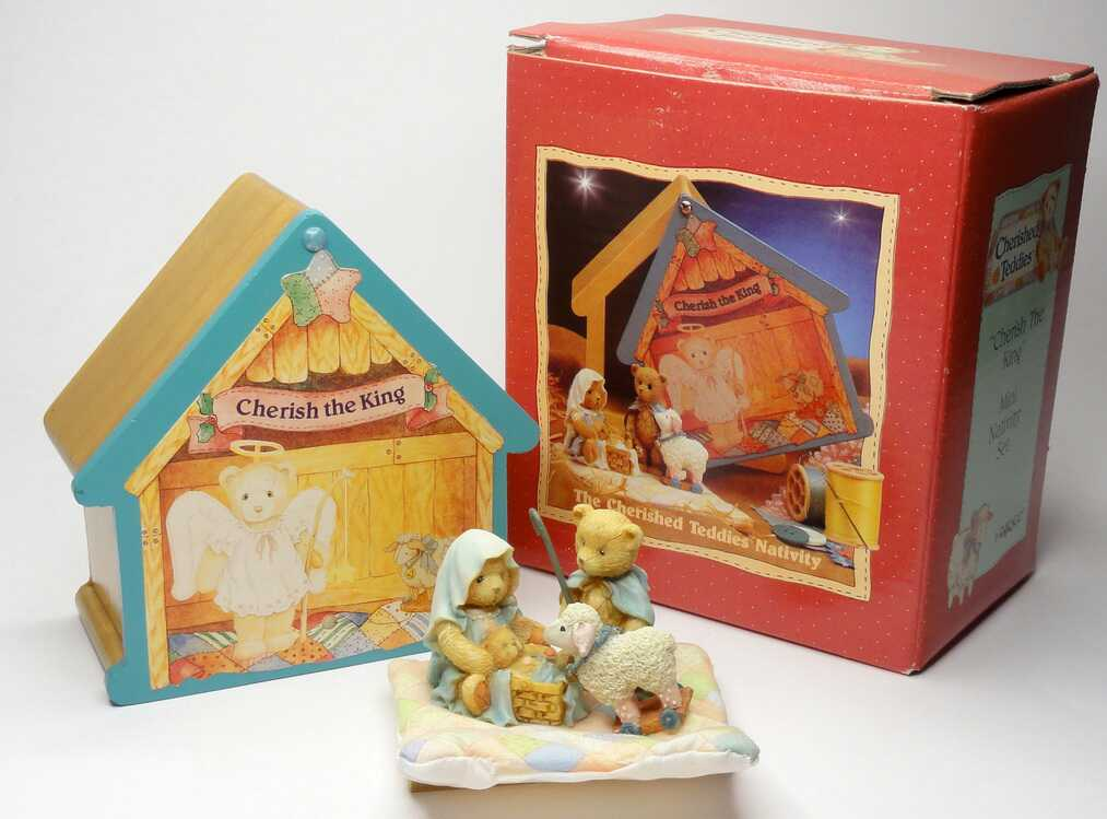 Cherished Teddies THE CHERISHED TEDDIES NATIVITY - MINI -