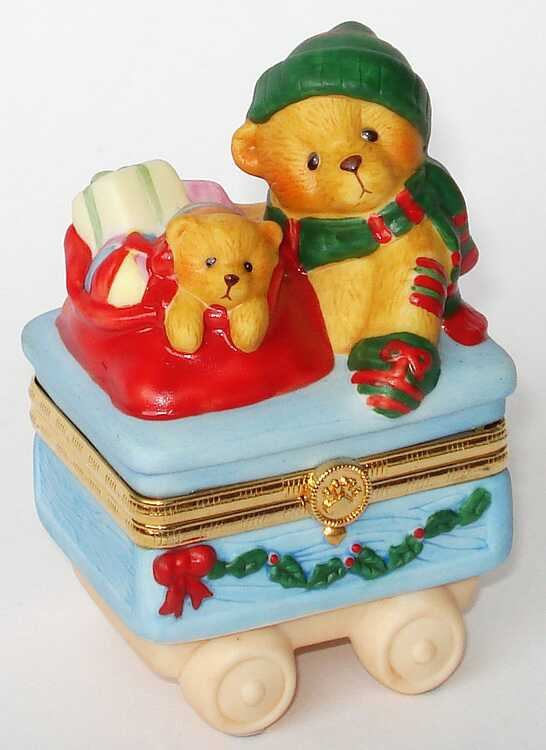 Cherished Teddies TRAIN TOY CAR -