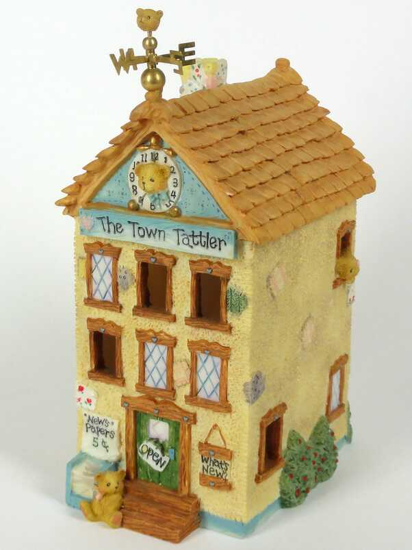 Cherished Teddies Town Tattler Nightlight -
