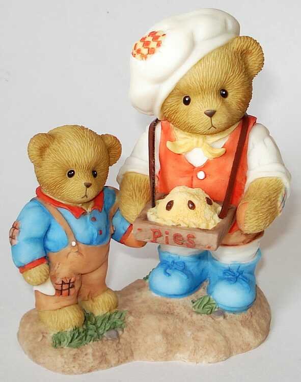 Cherished Teddies VINCENT and REED -