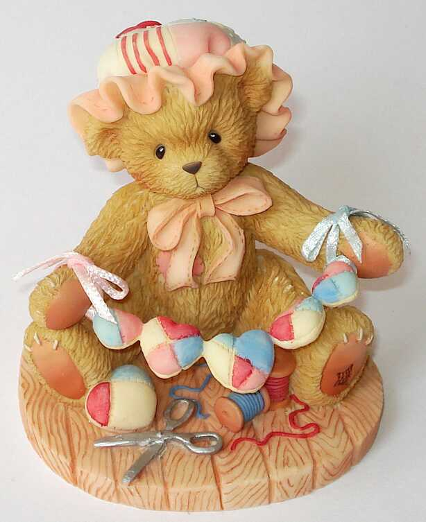 Cherished Teddies ZINNIA  -2002 GCC CATALOG Exclusive -