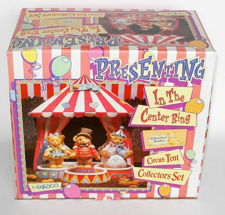 Cherished Teddies CIRCUS TENT COLLECTORS SET -