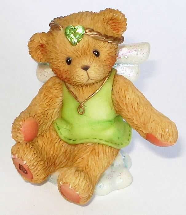Cherished Teddies ANGEL ON CLOUD August -
