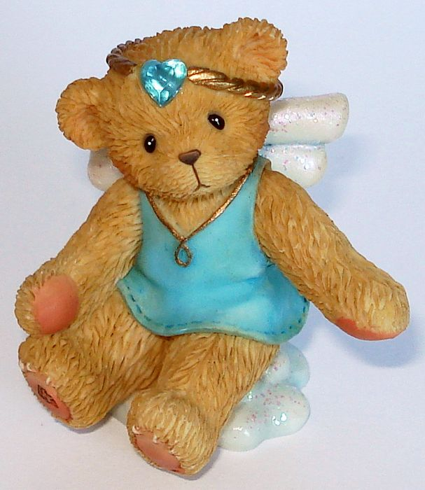 Cherished Teddies ANGEL ON CLOUD March - (824437)