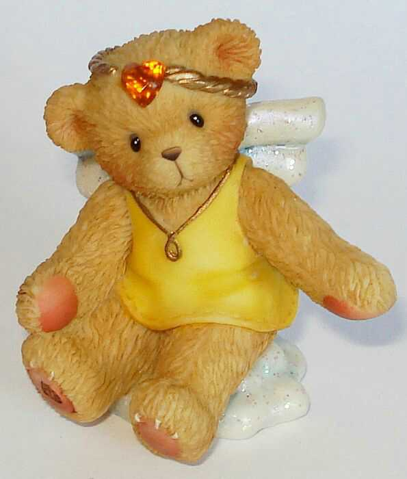 Cherished Teddies ANGEL ON CLOUD November -