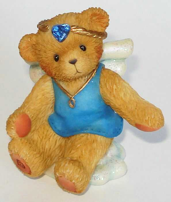 Cherished Teddies ANGEL ON CLOUD September -