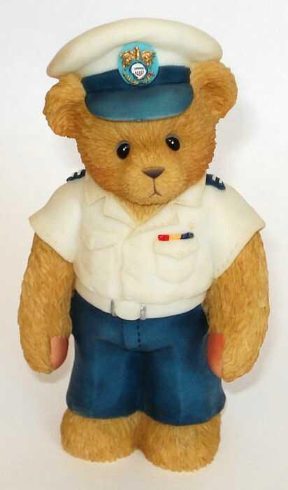 Cherished Teddies COASTGUARD TEDDIE -