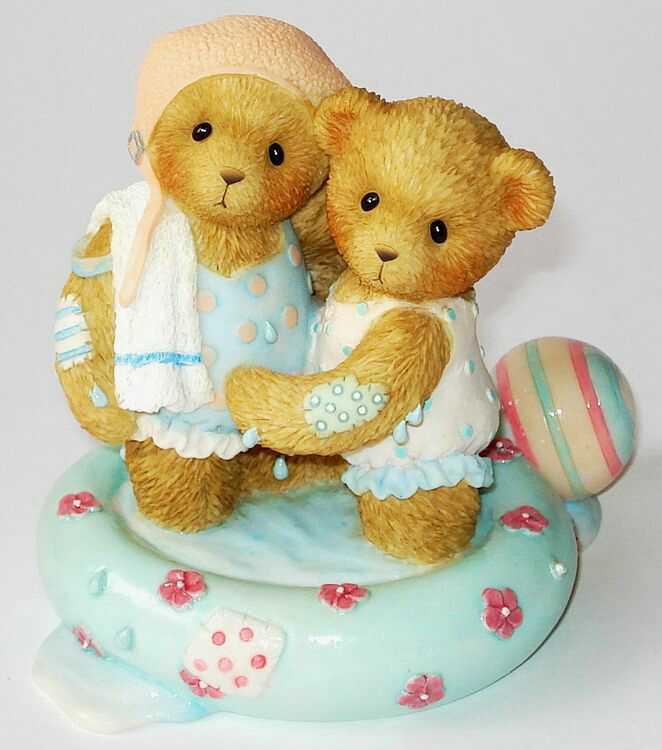 Cherished Teddies EMILY and MEGAN -