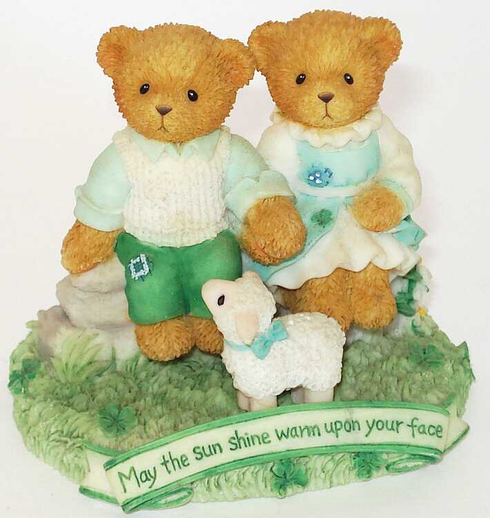 Cherished Teddies Hamilton Exclusive - 3rd In The Irish Blessings Collection -