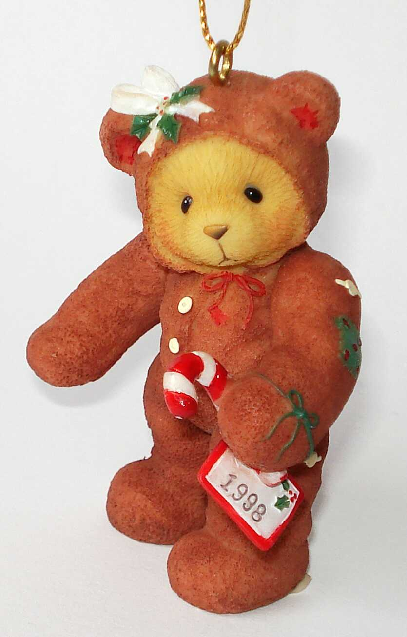 Cherished Teddies GINGERBREAD BEAR -