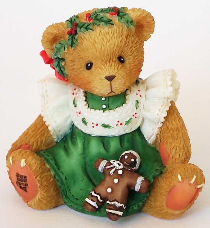 Cherished Teddies GIRL WITH GINGERDREAD DOLLl -