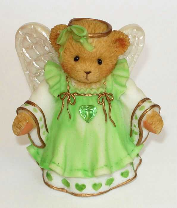 Cherished Teddies GRACIOUS GUARDIANS AUGUST -